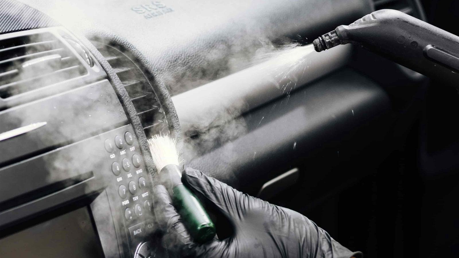 sanificazione interni auto ozono